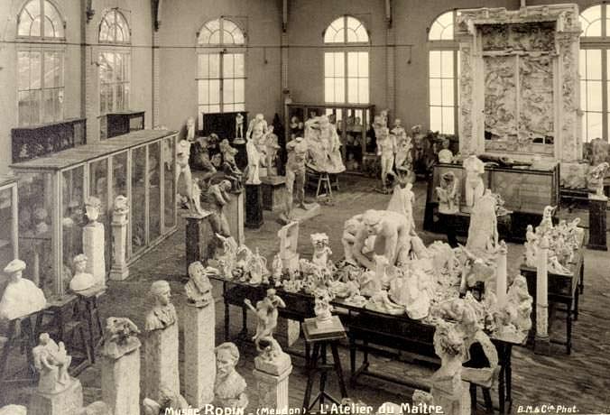 L'Atelier Rodin : un esprit, une atmosphère dans un écrin... (Meudon, Ile de France)