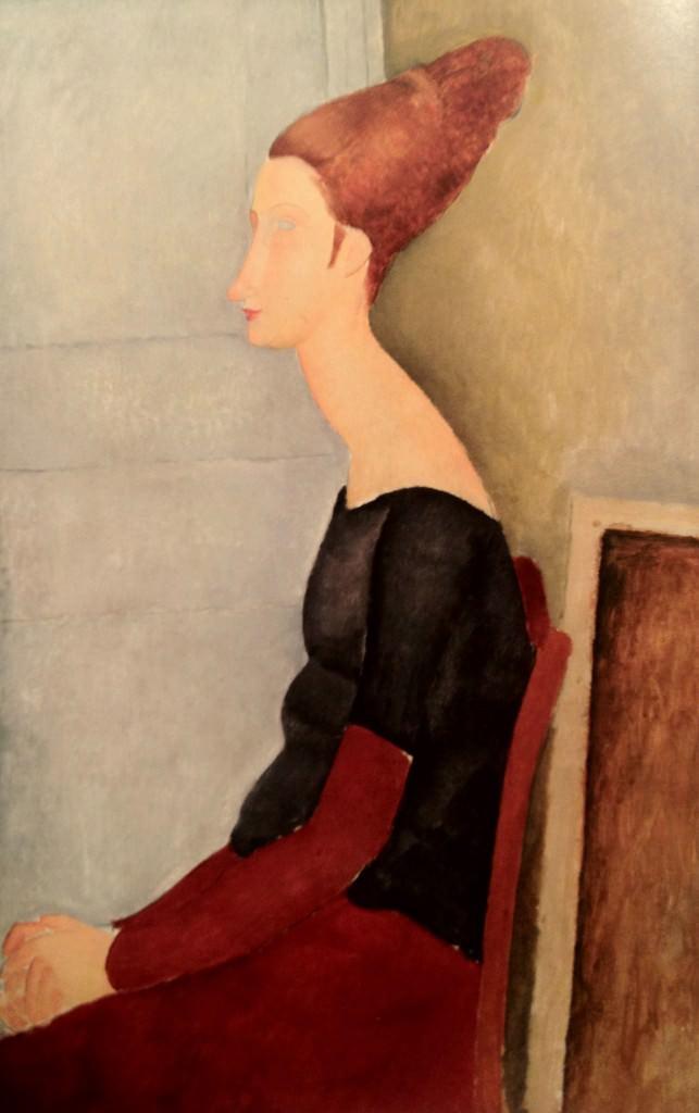 Portrait de Jeanne Hébuterne Jeanne Hébuterne au henné Modigliani