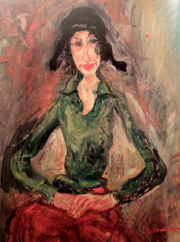 La femme en vert Soutine