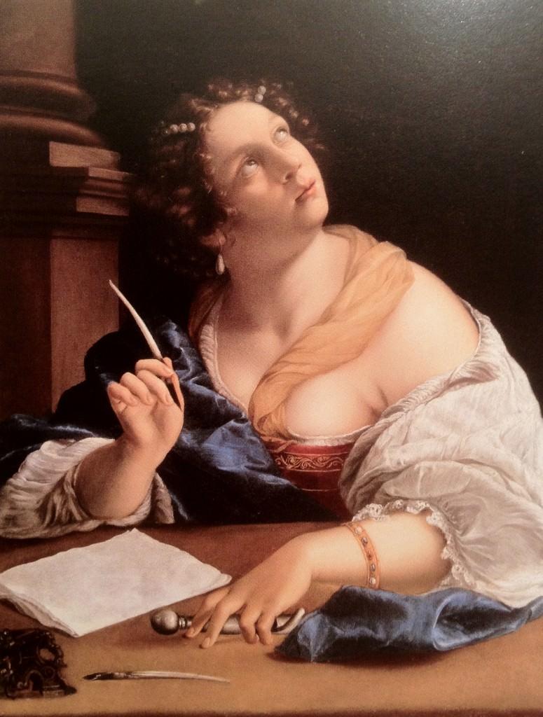 Allégorie de la Rhétorique Artemisia Gentileschi