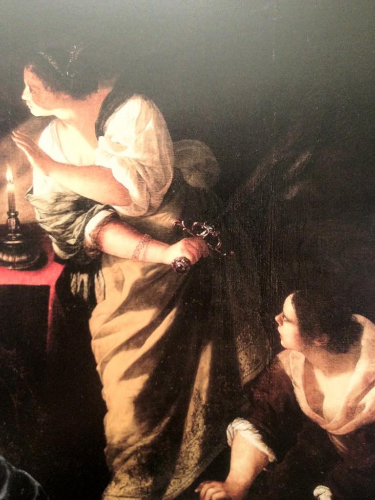 Judith et la servante avec la tête d'Holopherne Artemisia Gentileschi