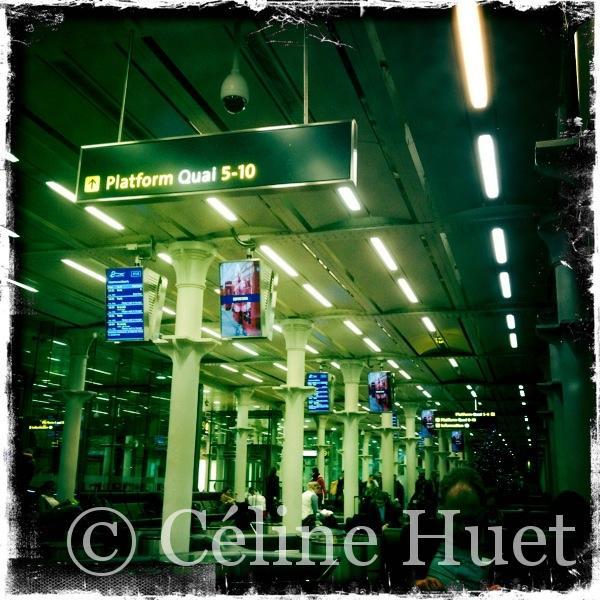 Gare de St Pancras Londres