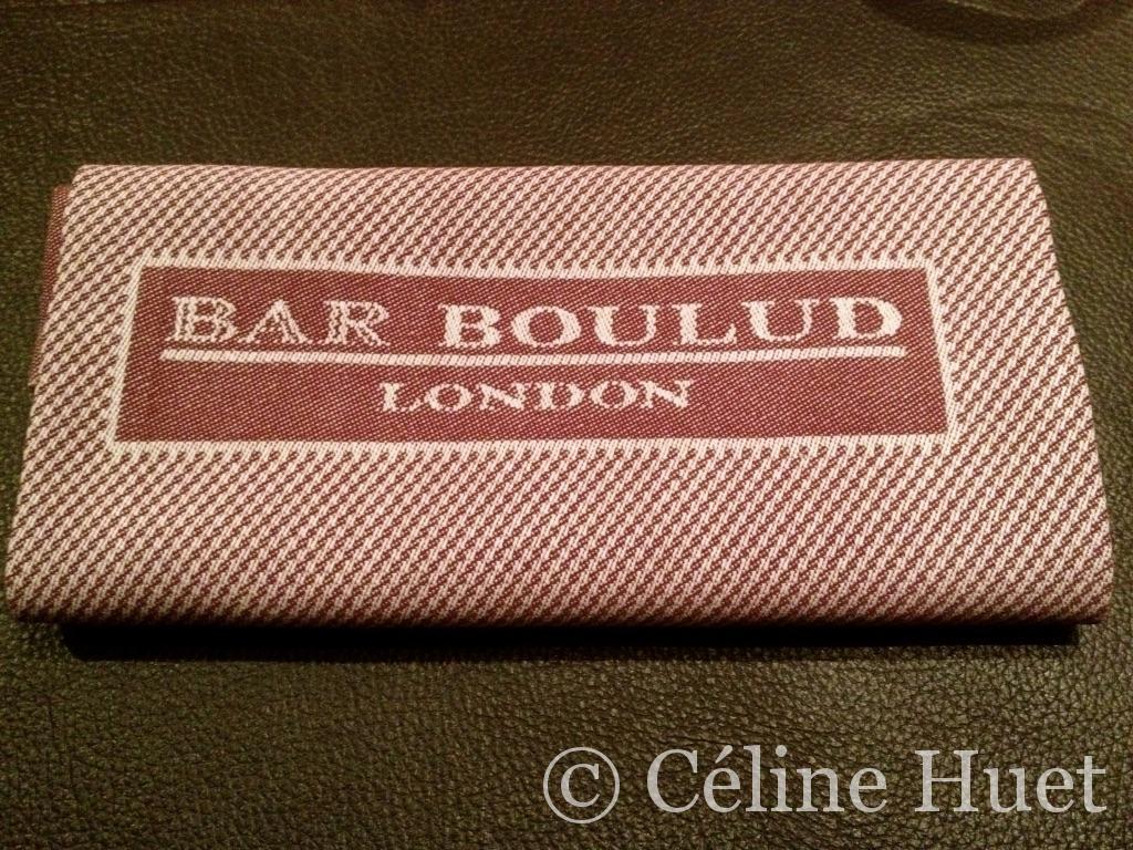 Bar Bouloud Mandarin Oriental Londres