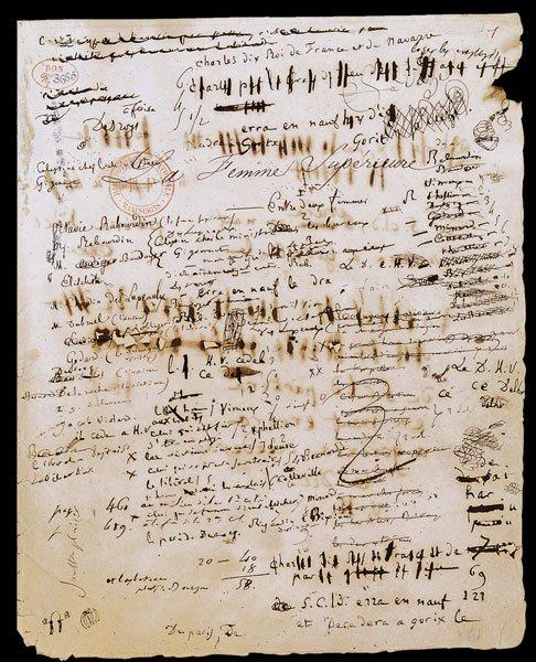 Brouillon Ecrire Ecrivain Balzac