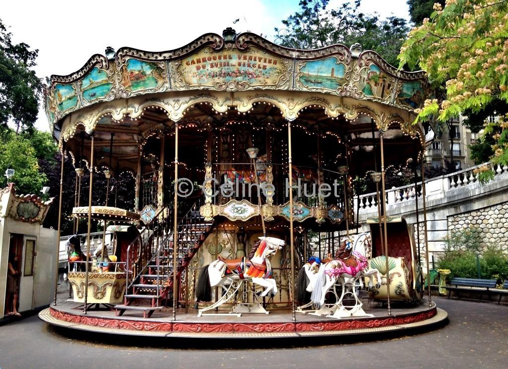 Manège de la Butte Montmartre Paris