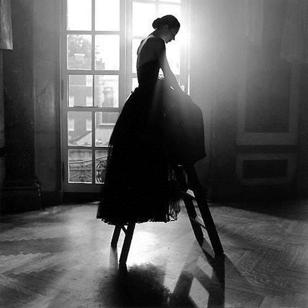 Femme photo noir et blanc