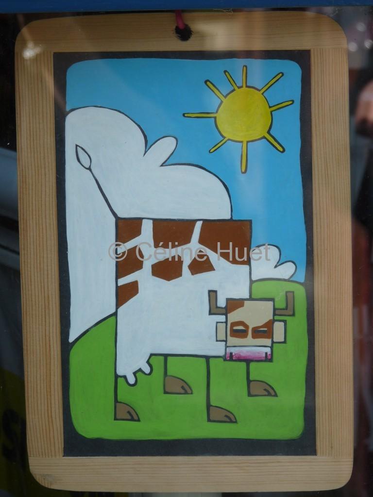 Pépito et ses vaches carrées...