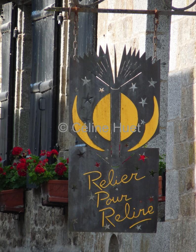 Relier pour relire Bécherel Bretagne
