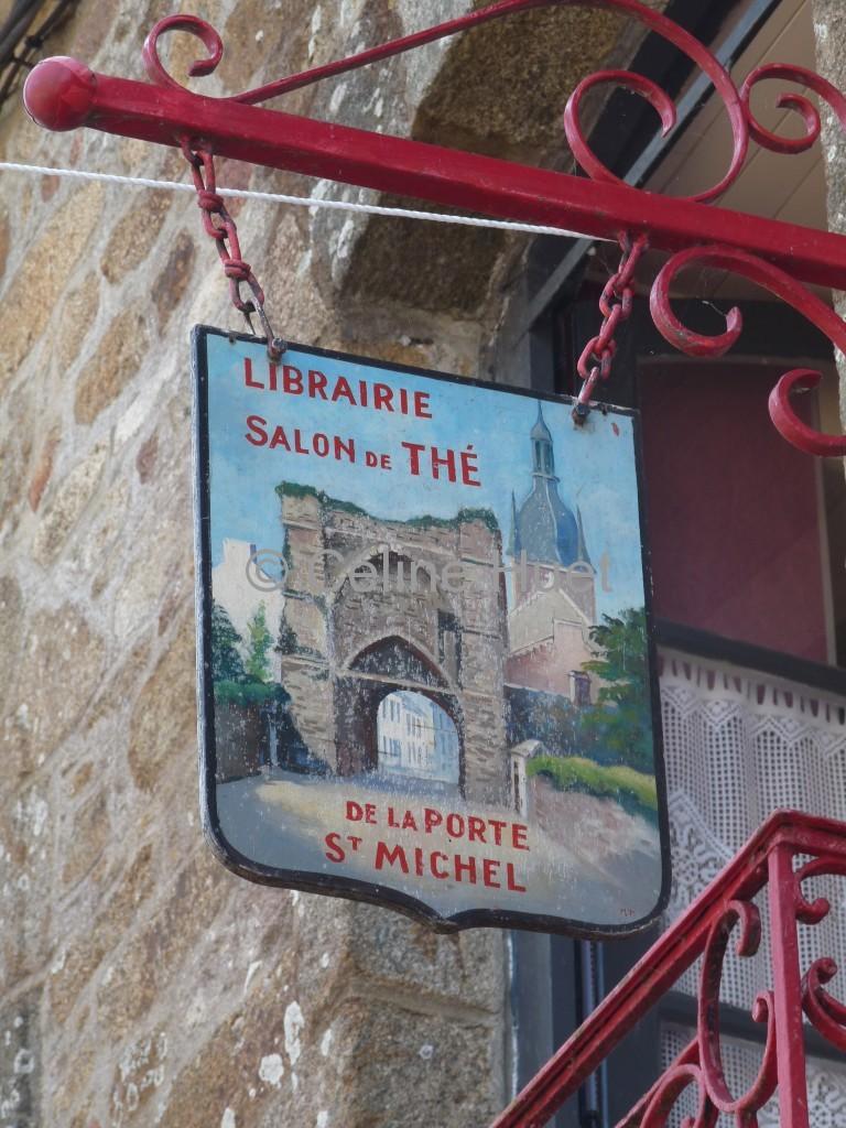 Librairie Salon de Thé de la Porte Saint Michel Bécherel Bretagne