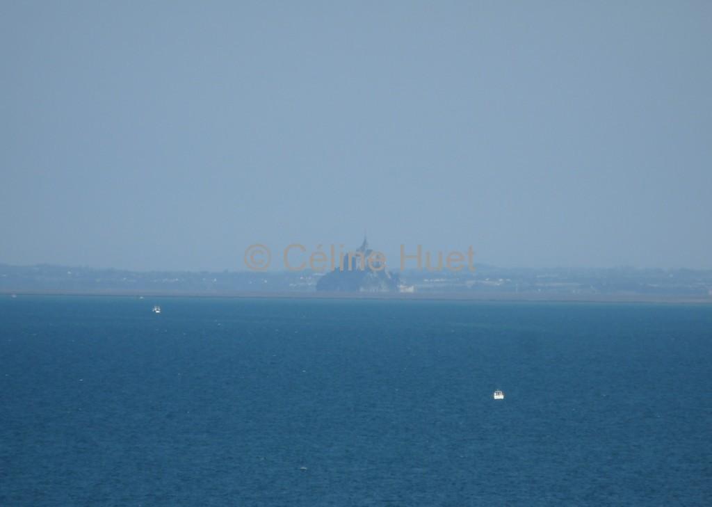 Le Mont Saint Michel vu de la Pointe du Grouin Bretagne