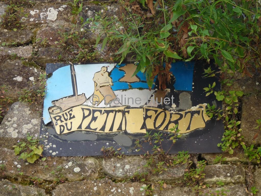 Rue du Petit Fort Dinan Bretagne