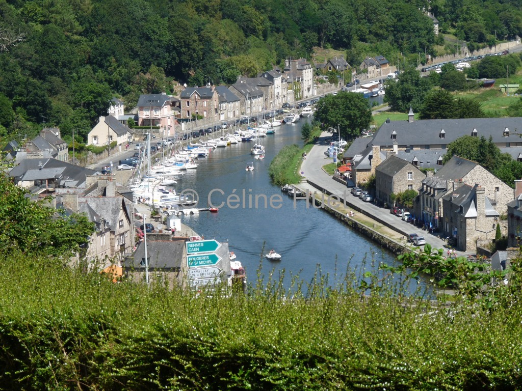 Le Port de Dinan Bretagne