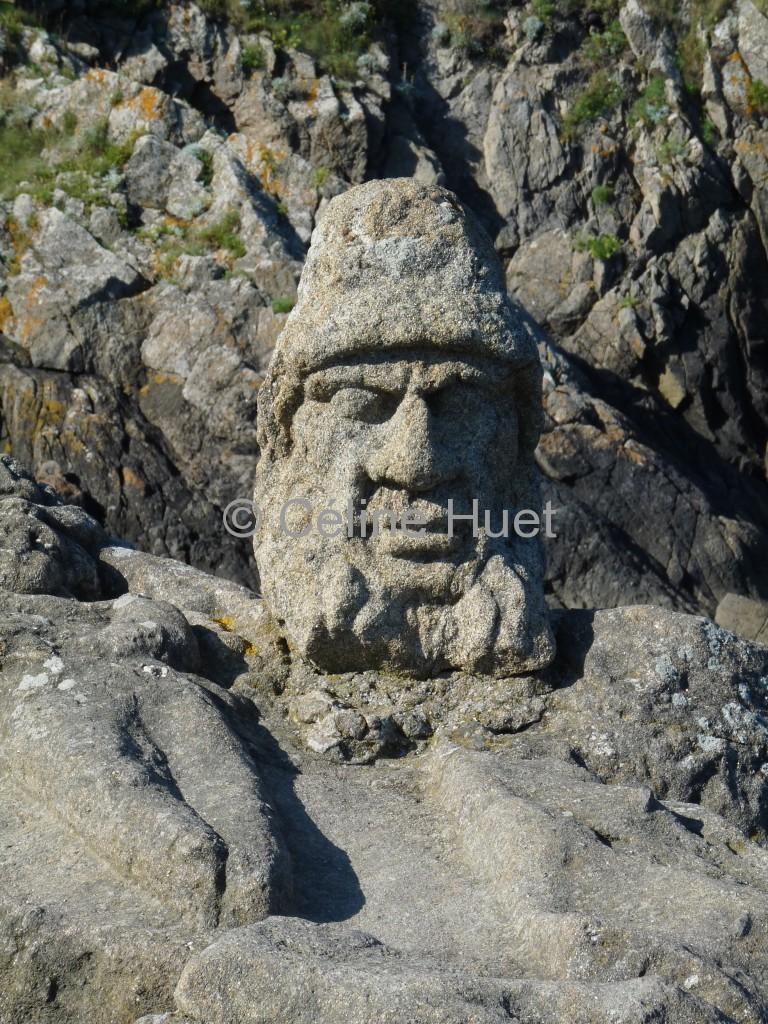 Les rochers sculptés de Rotheneuf Bretagne