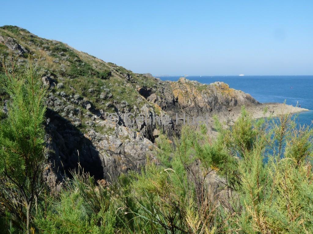Domaine Les rochers sculptés de Rothéneuf Bretagne