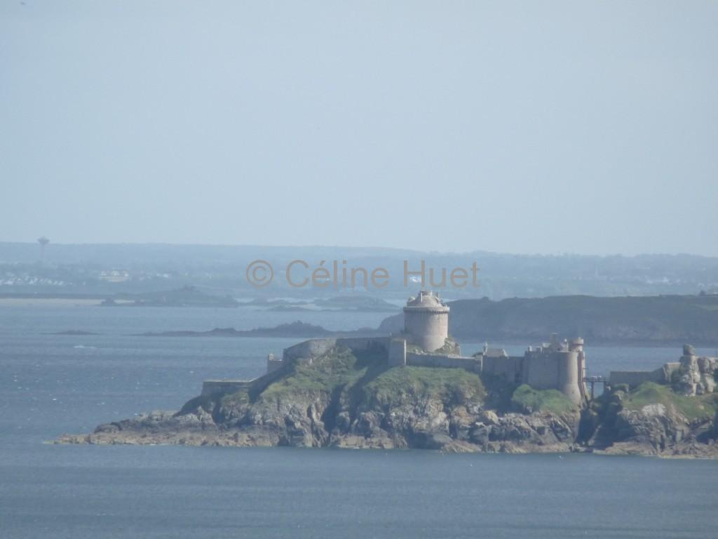 Le Fort La Latte vu du Cap Fréhel Bretagne