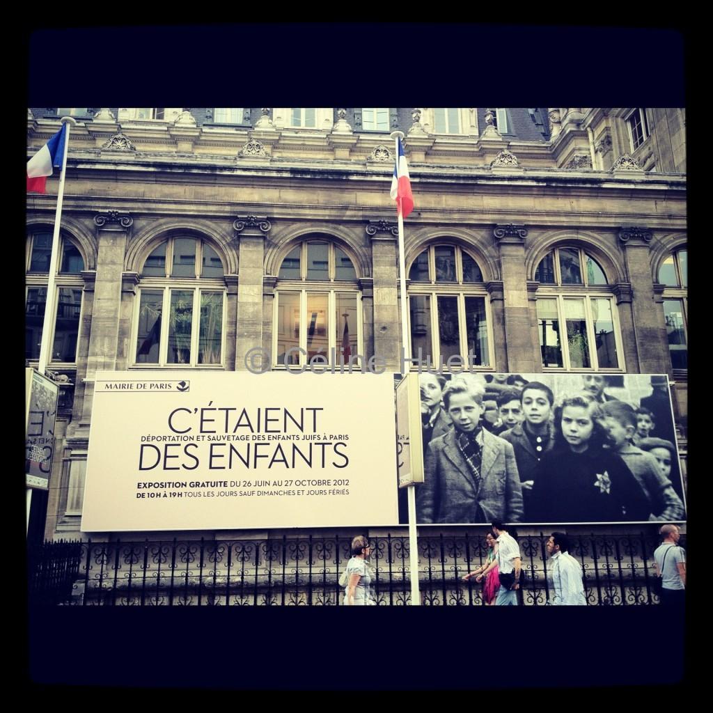 Exposition C'étaient des enfants Déportation et sauvetage des enfants juifs à Paris Hôtel de Ville Paris