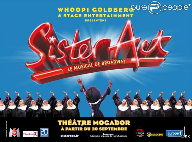 Sister Act Théâtre Mogador Stage Entertainment