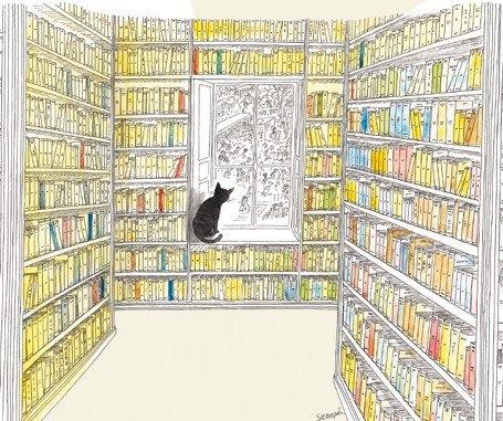 """""""Un livre est une fenêtre par laquelle on s'évade"""" (Julien Green)..."""