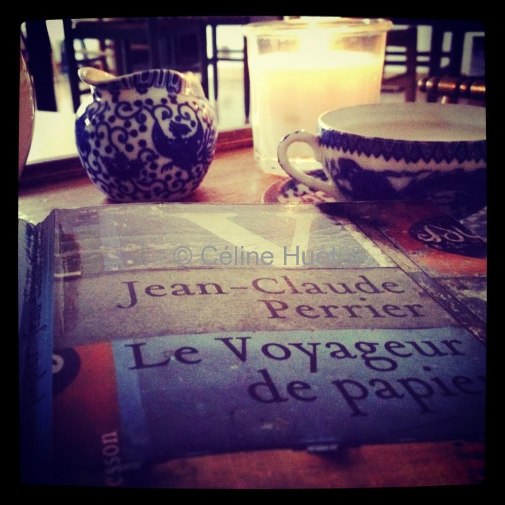 Le voyageur de papier Jean-Claude Perrier Editions Héloïse d'Ormesson