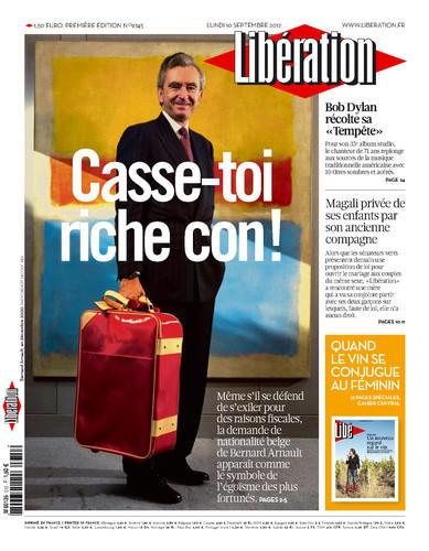 Une Libération 10 septembre 2012 Bernard Arnault