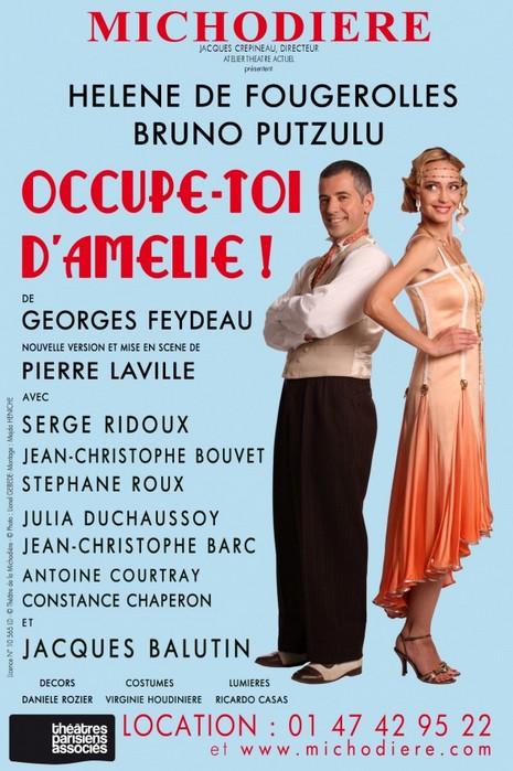 Occupe-toi d'Amélie Théâtre de la Michodière