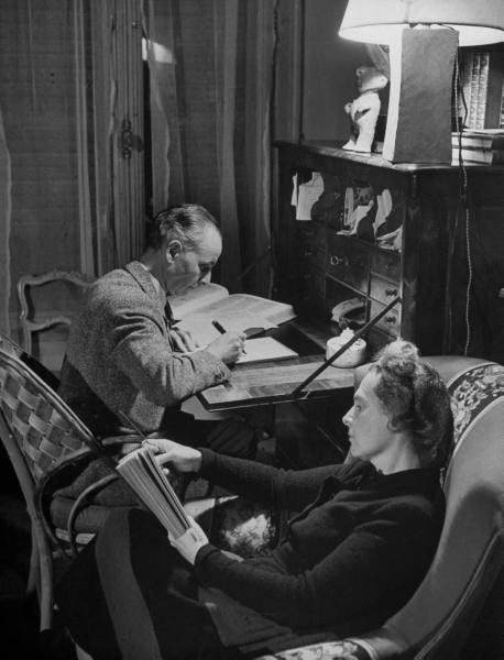 Elsa Triolet et Louis Aragon