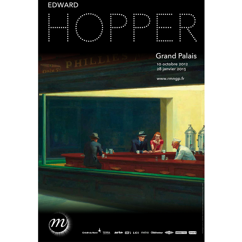Exposition Hopper Grand Palais