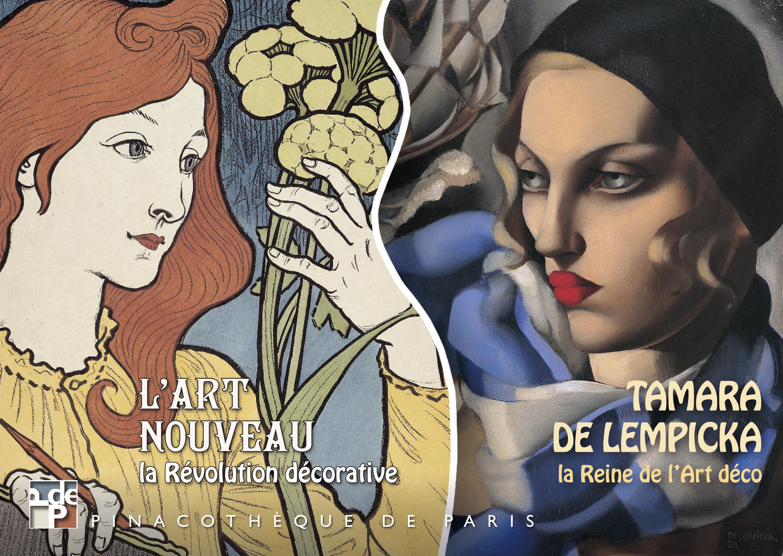"""""""Tamara de Lempicka : la Reine de l'Art Déco"""" à la Pinacothèque (Paris)..."""