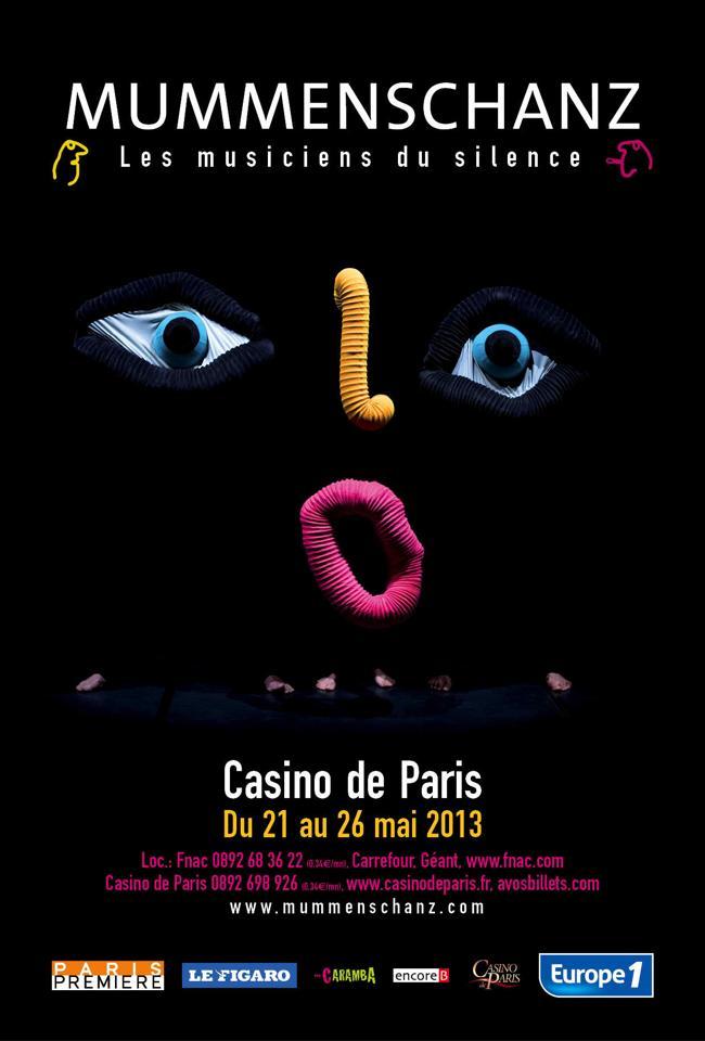 Mummenschanz Casino de Paris