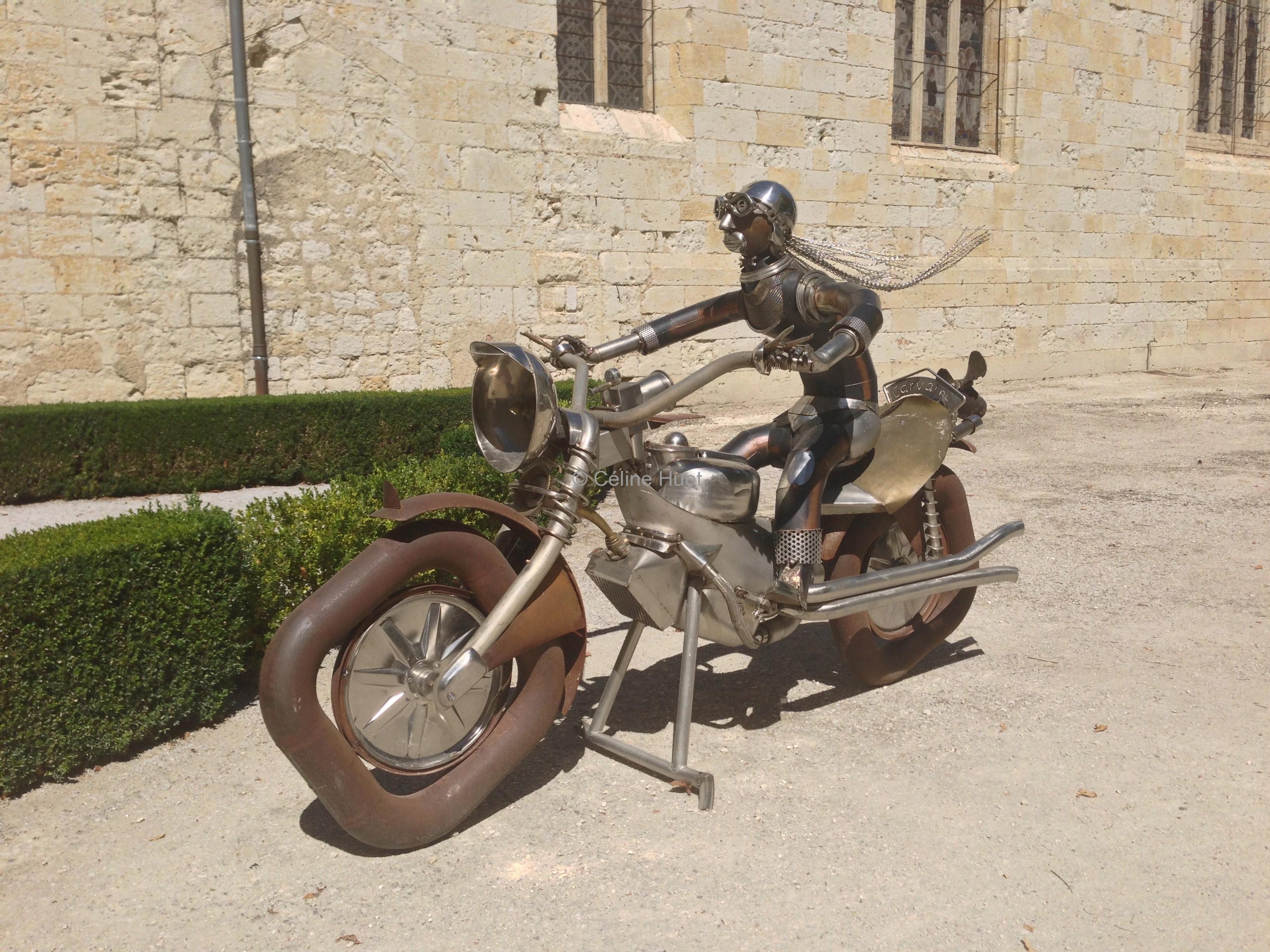 Sculpture Carvalho Lectoure Gers
