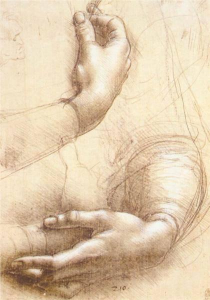 """""""La peinture est une poésie qui se voit au lieu de se sentir et la poésie est une peinture qui se sent au lieu de se voir"""" (Léonard de Vinci)..."""