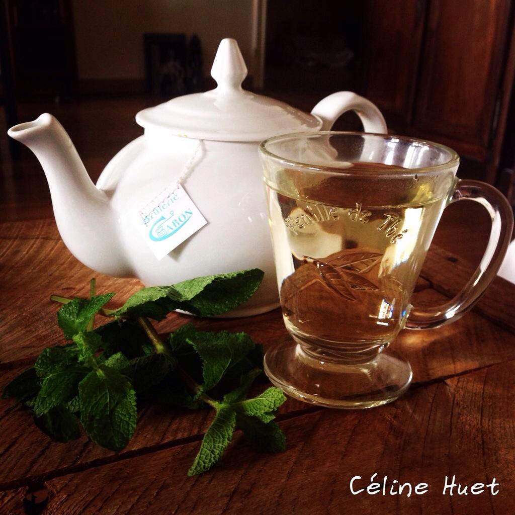 Thé vert à la menthe du Maroc Brûlerie Caron