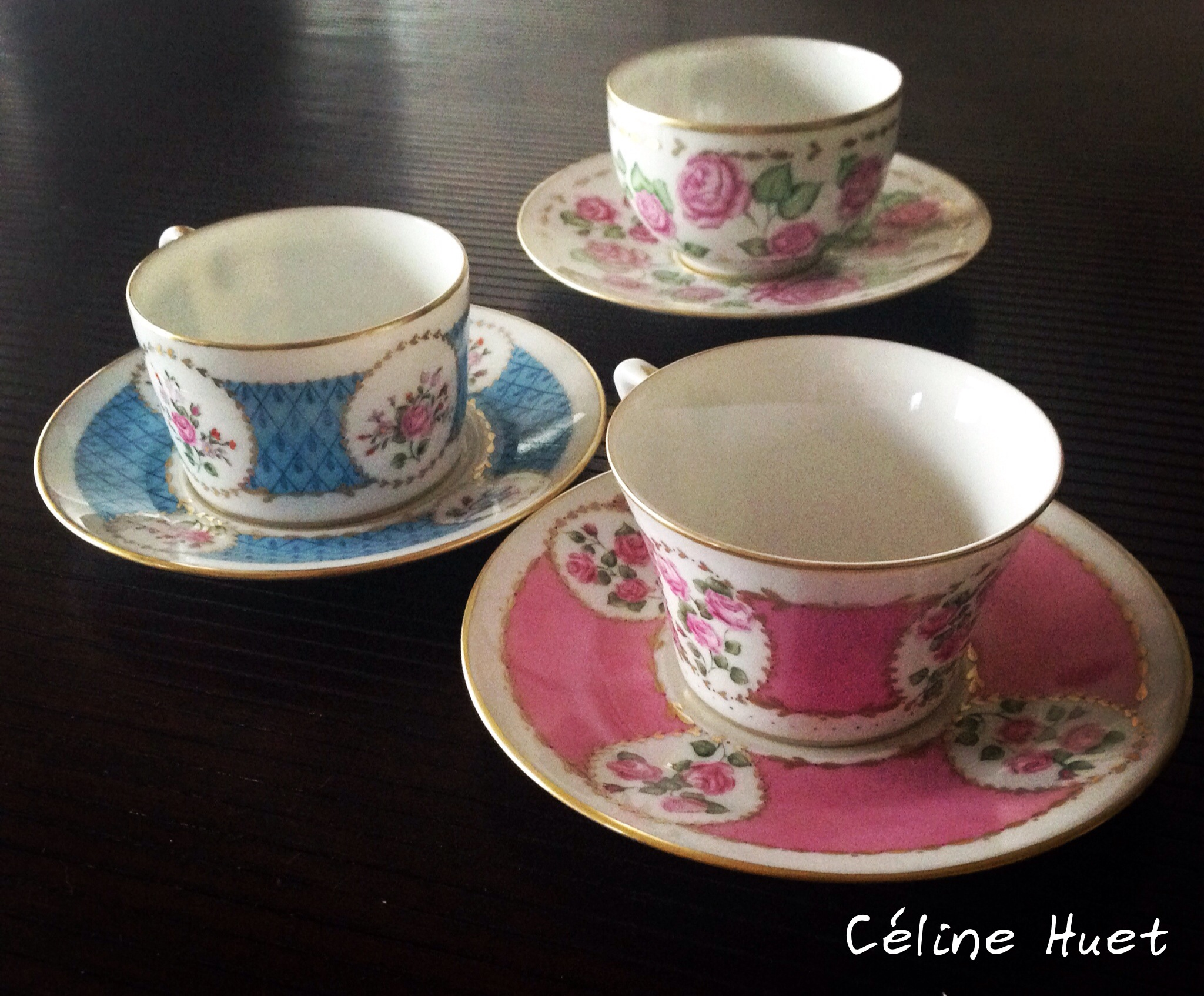Tea Time made in L'Atelier Porcelaine !