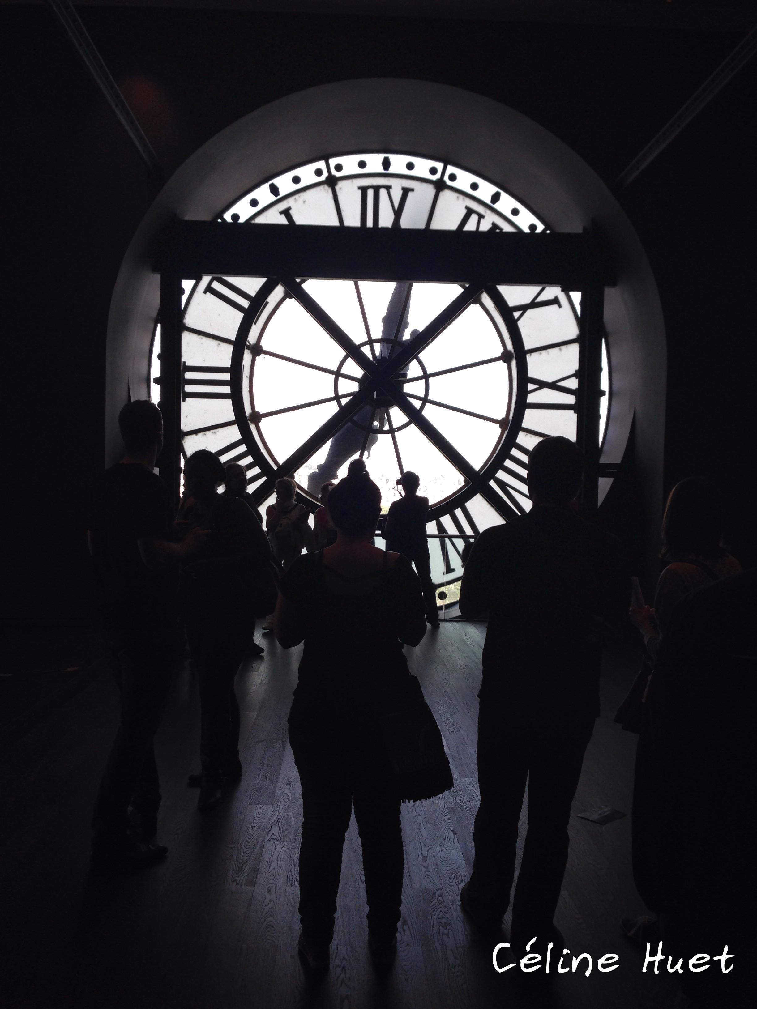 Horloge Musée d'Orsay Paris