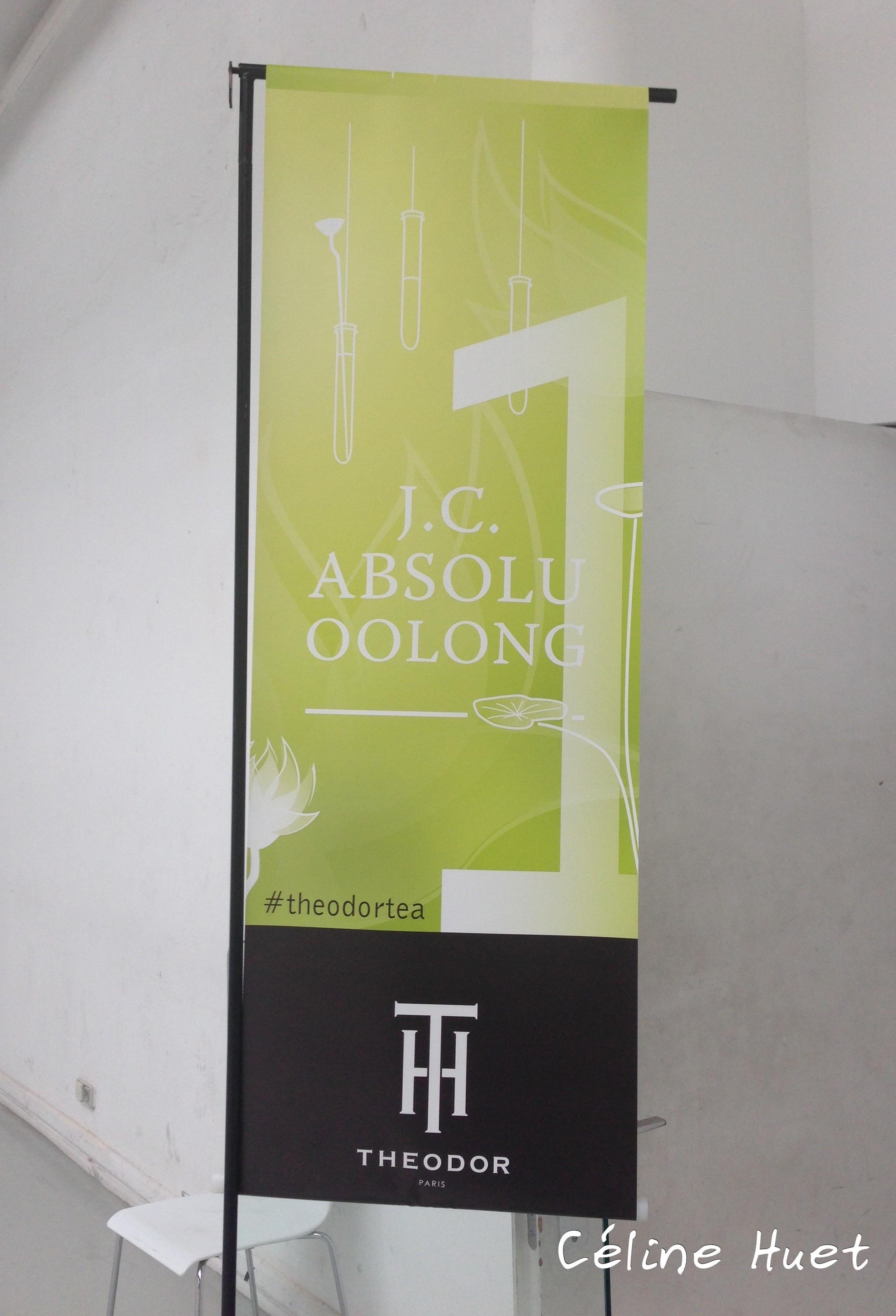 "Voyage en jardin de création : ""J.C. Absolu Oolong"" de Theodor..."