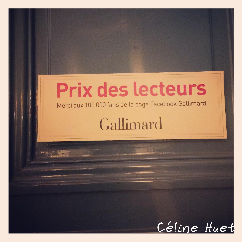 Prix des Lecteurs Gallimard