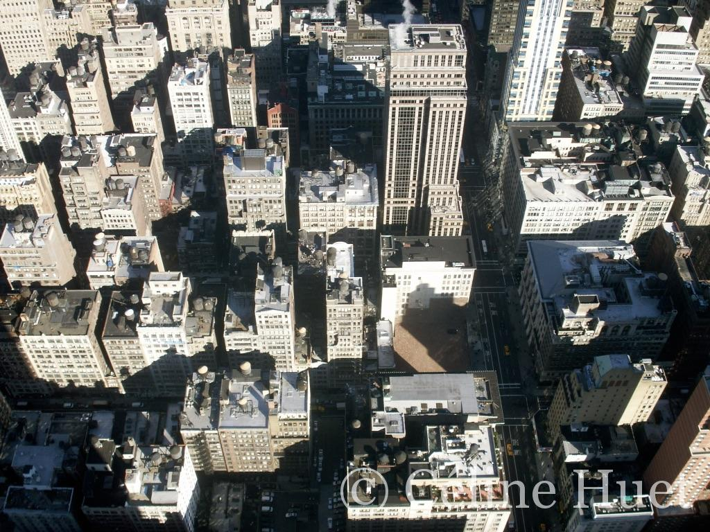New York vue de L'Empire State Building