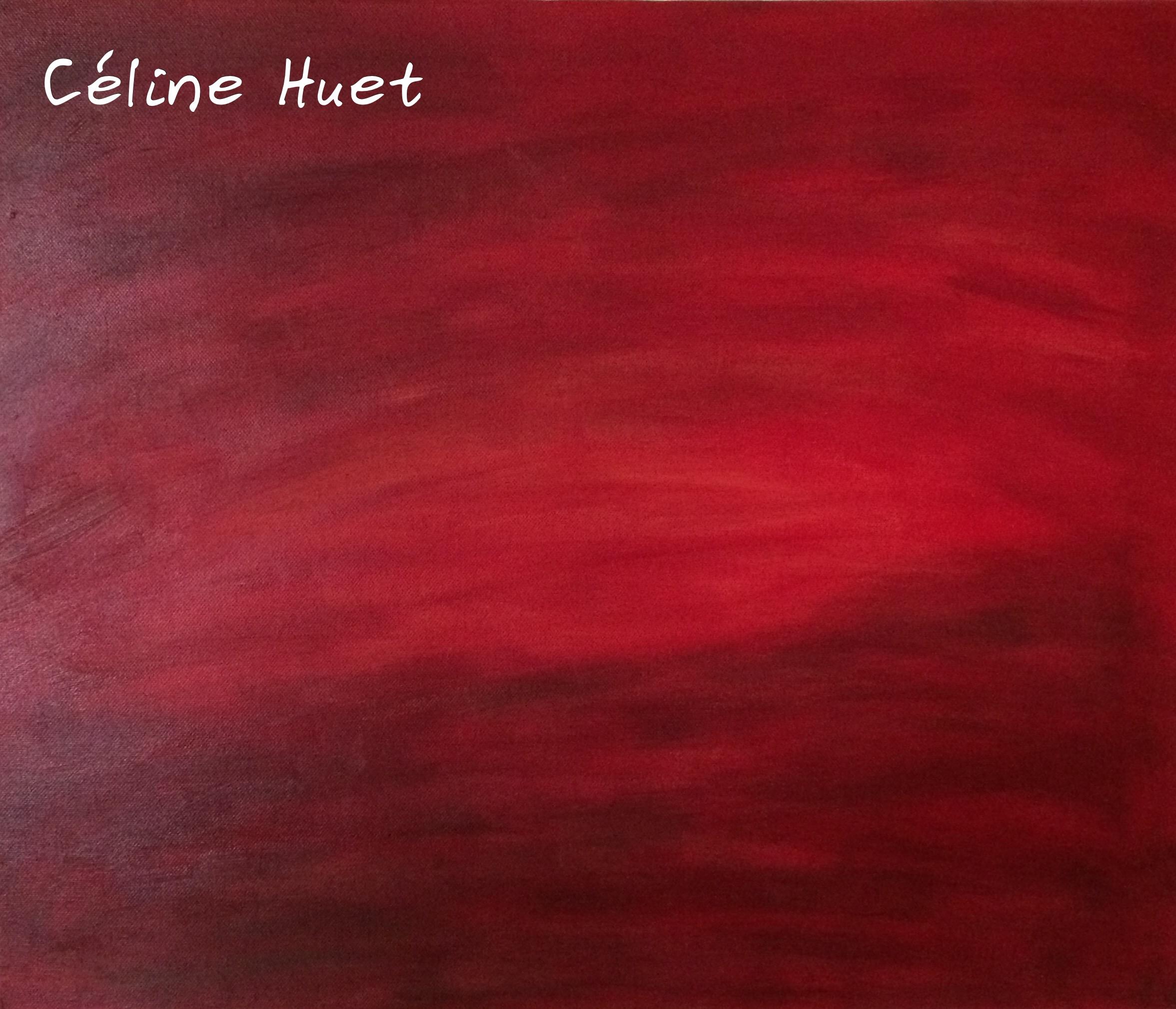 Bangkok sunset Peinture à l'huile Création Céline HUET