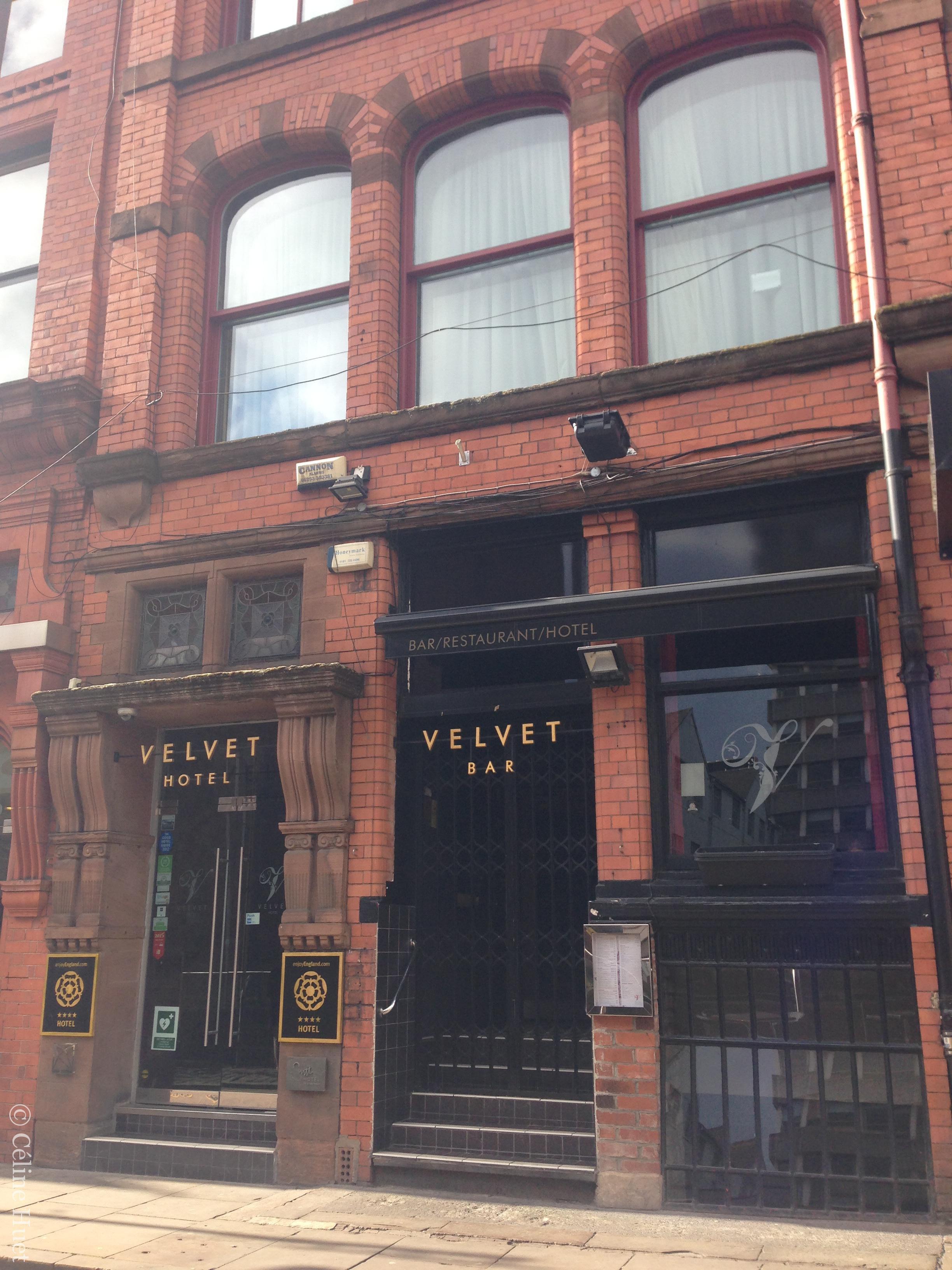 Velvet Hotel Manchester Royaume Uni