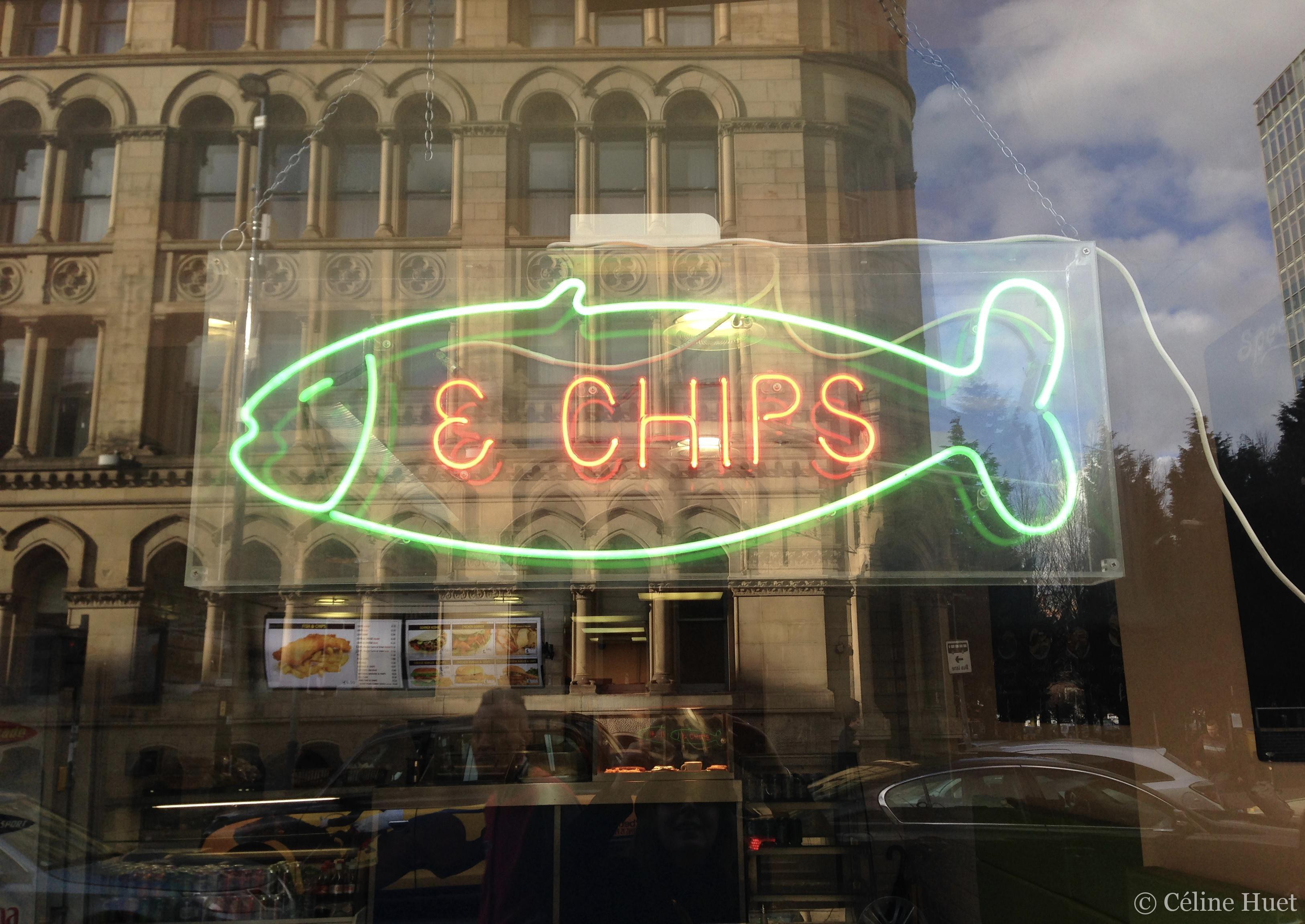 Fish & Chips Manchester Royaume Uni