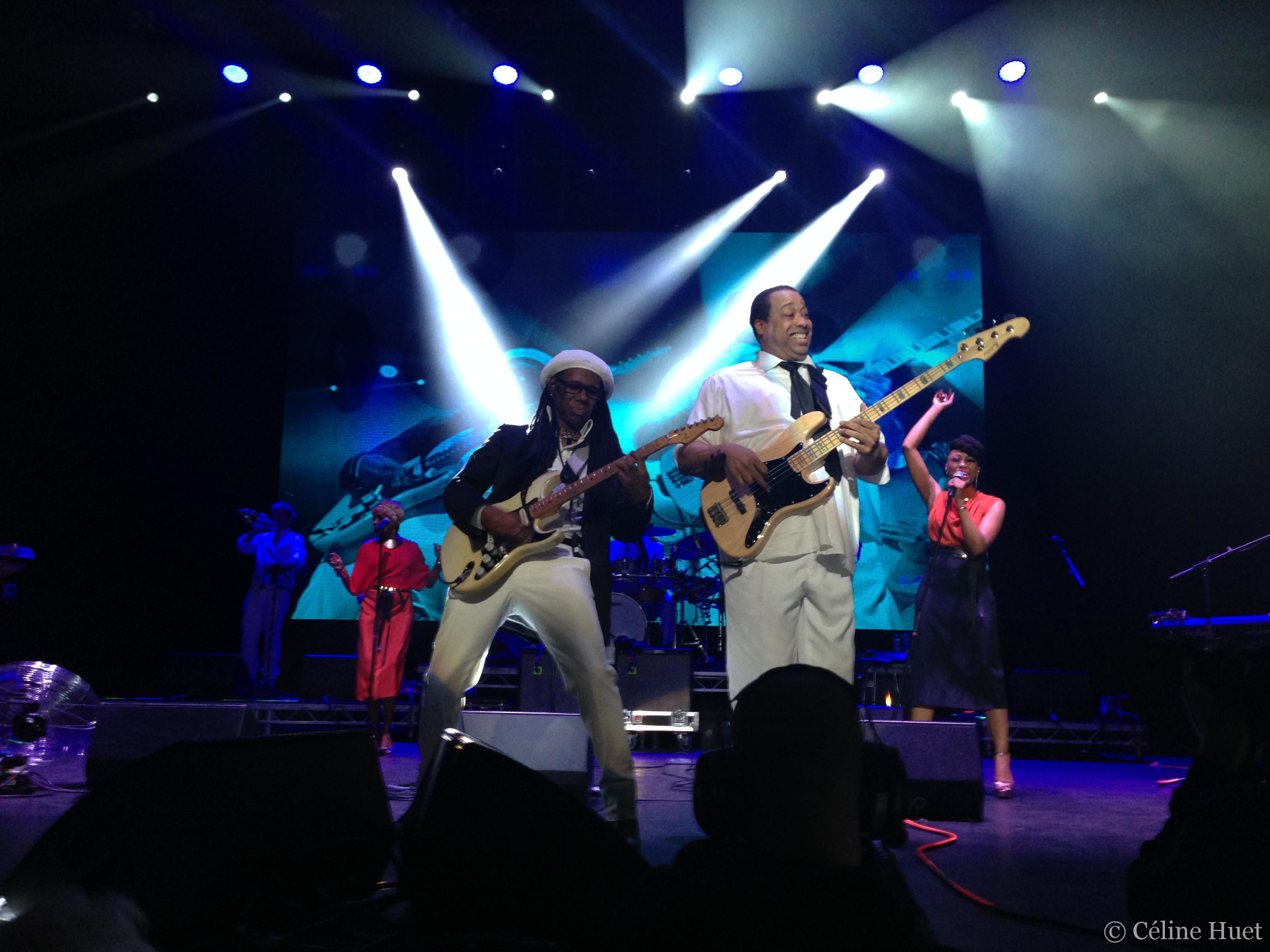 Concert Chic Nile Rodgers O2 Apollo Manchester Royaume Uni