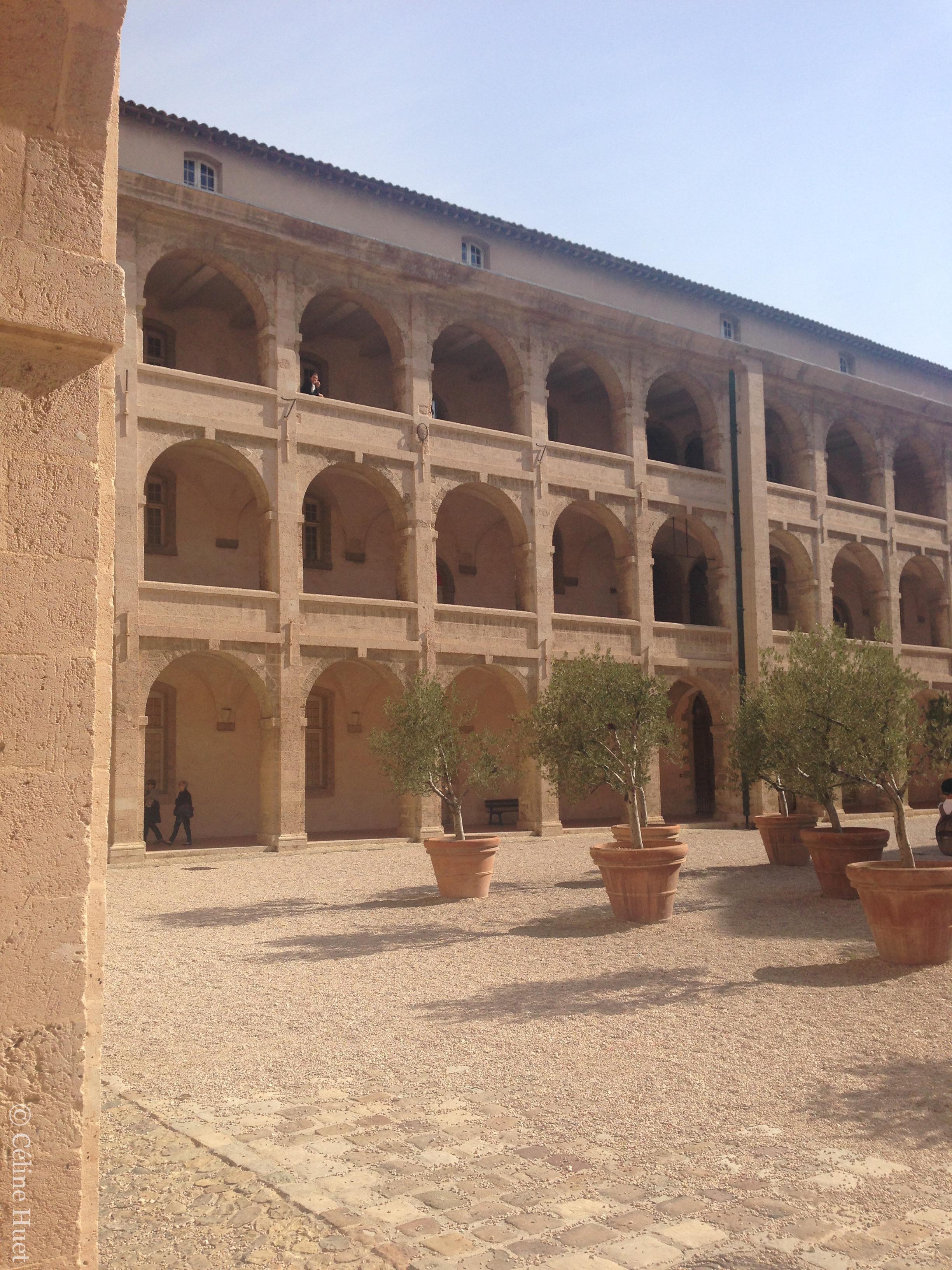 Ancien hôpital Vieille Charité Marseille France