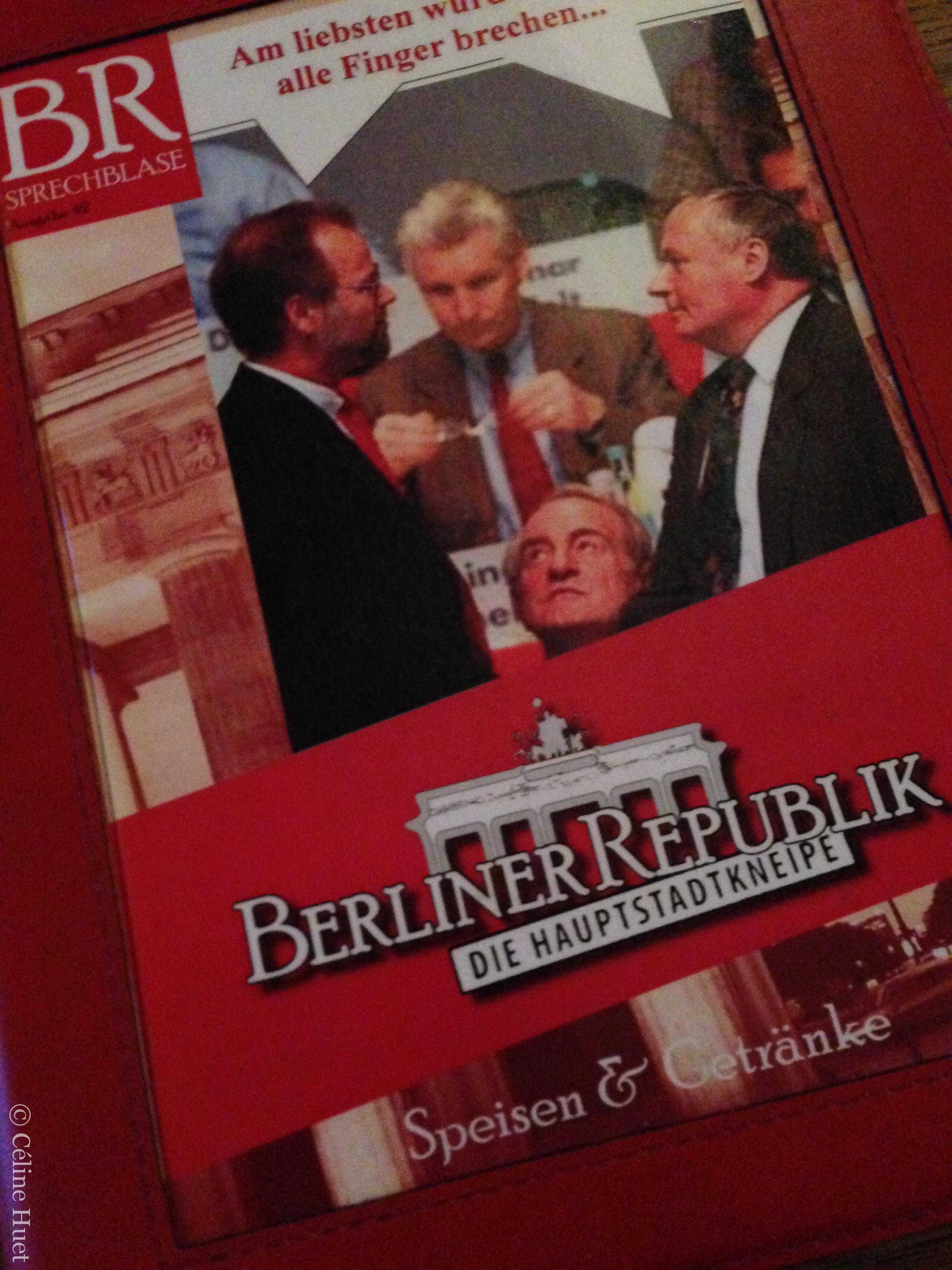 Berliner Republik Berlin Allemagne