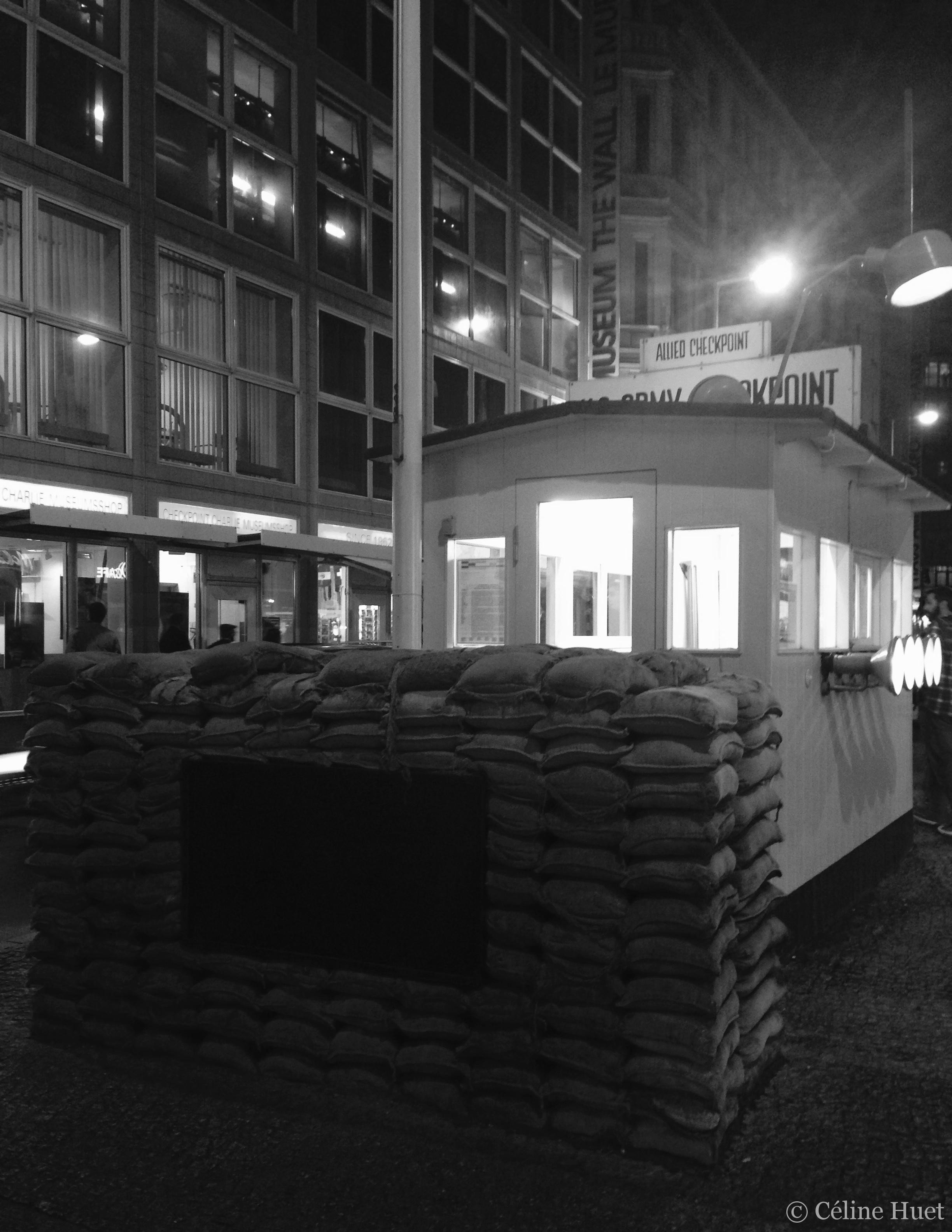 Check point Charlie Berlin Allemagne