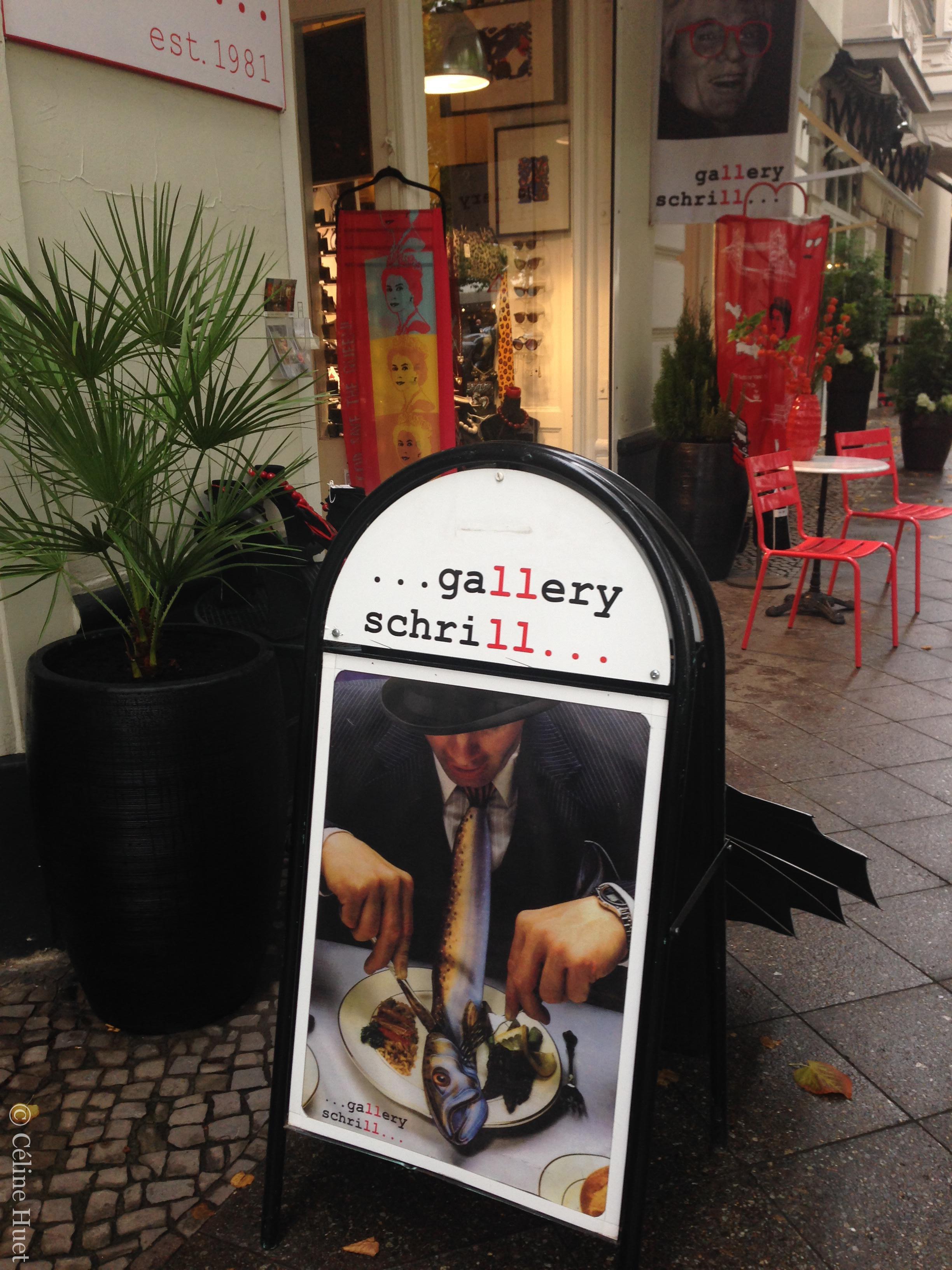 Gallery Schrill Berlin Allemagne