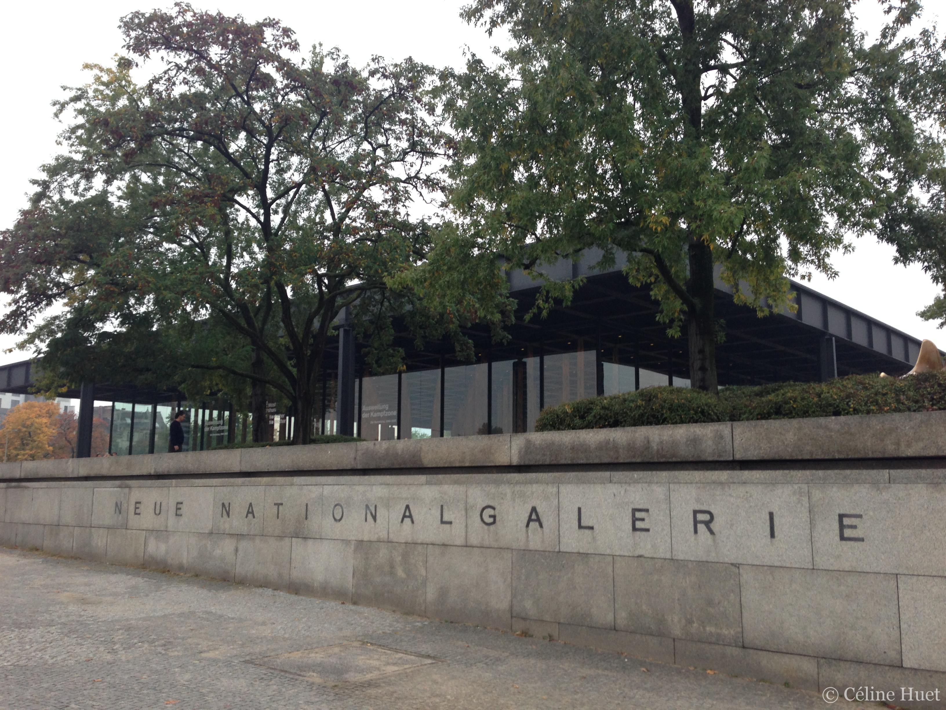 Neue National Galerie Berlin Allemagne