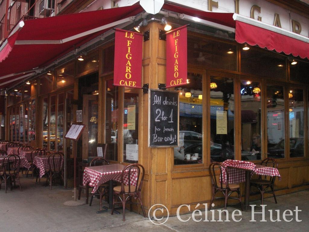 Le Figaro Café Greenwich Village New York
