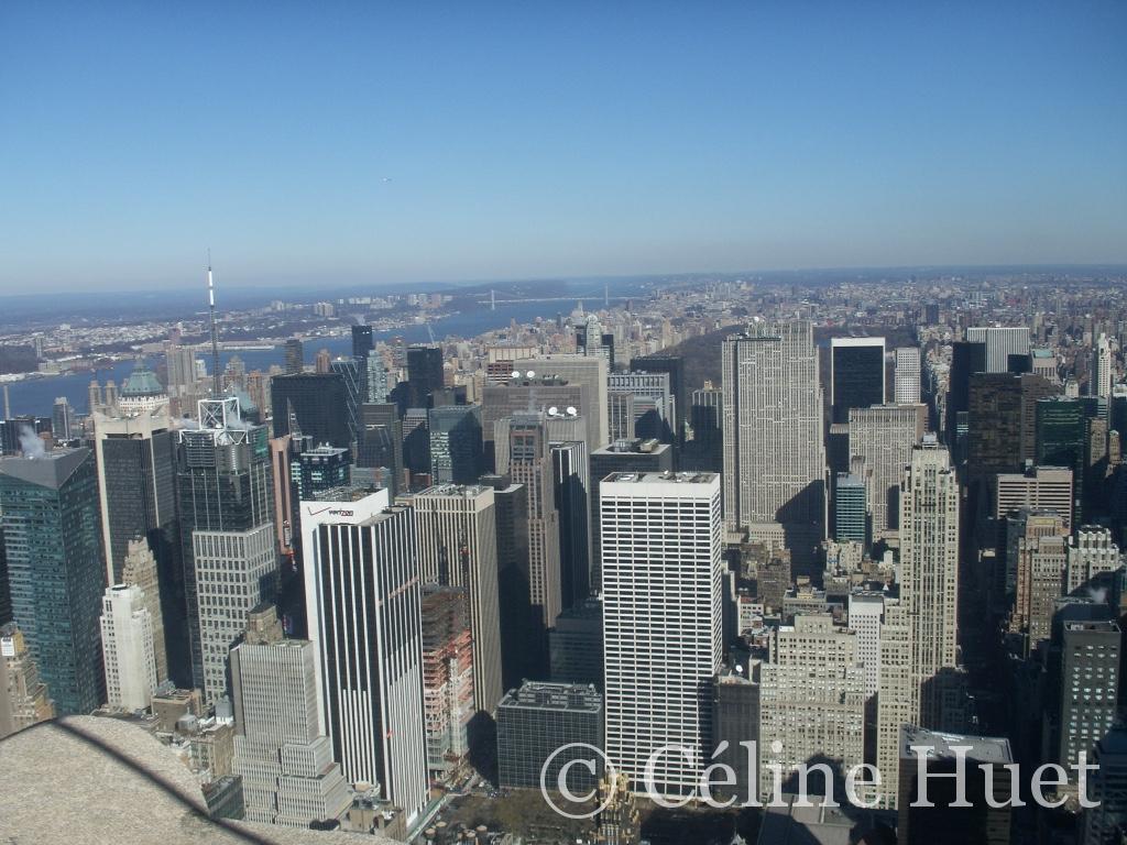 New York vue de l'Empire State Building