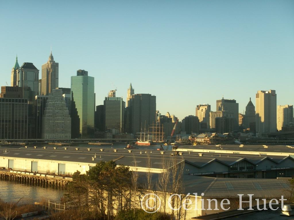 New York vue de Brooklyn
