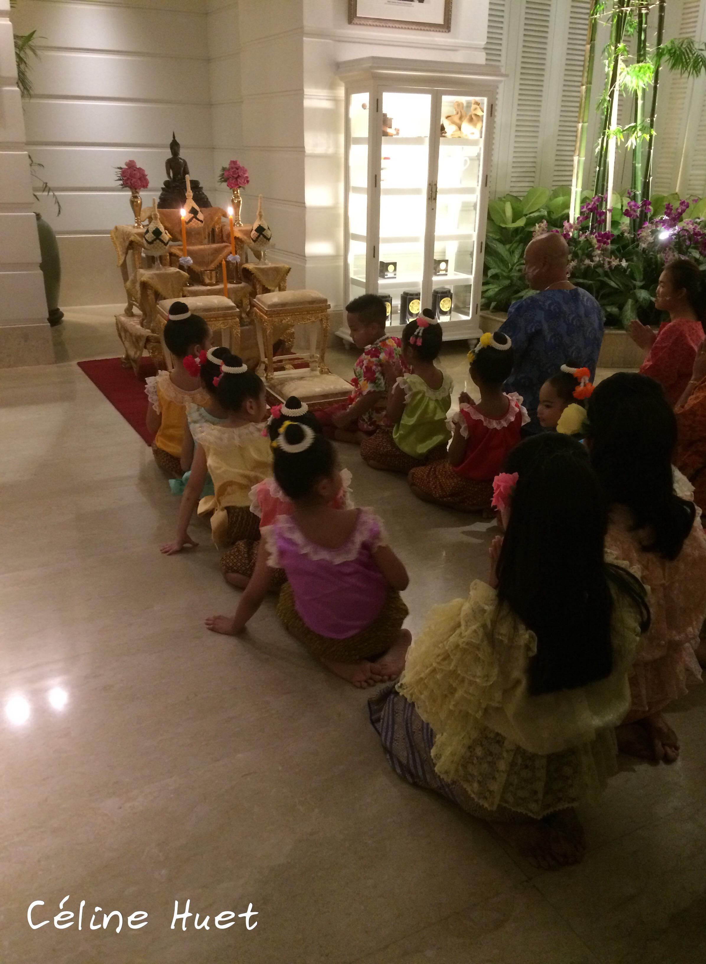 Songkran Festival 2016 Mandarin Oriental Bangkok Thaïlande Asie